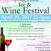 Spring Thaw Ice and Wine Festival 2017
