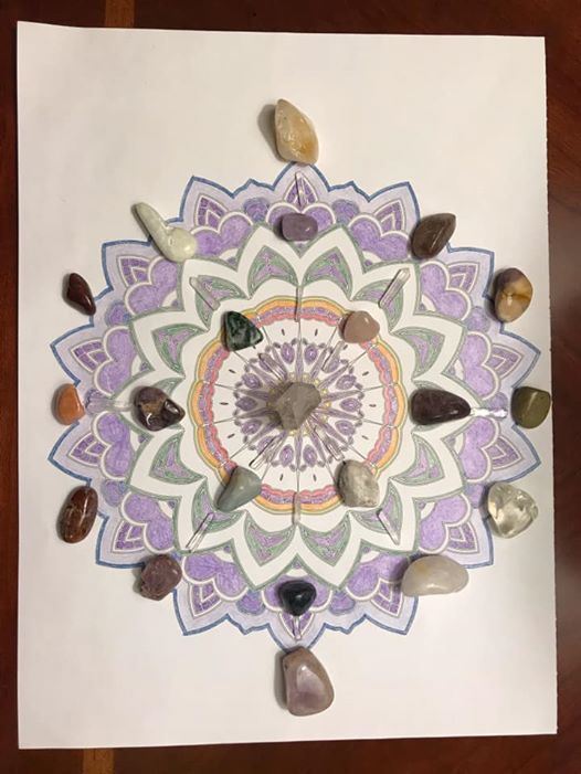 Learn to work with crystals and crystal grids