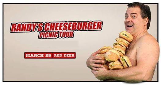 Randys Cheeseburger Picnic Tour - Red Deer