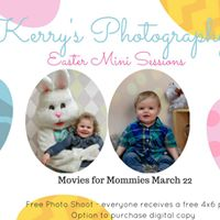 Easter Photos and Ferdinand at Movies for Mommies