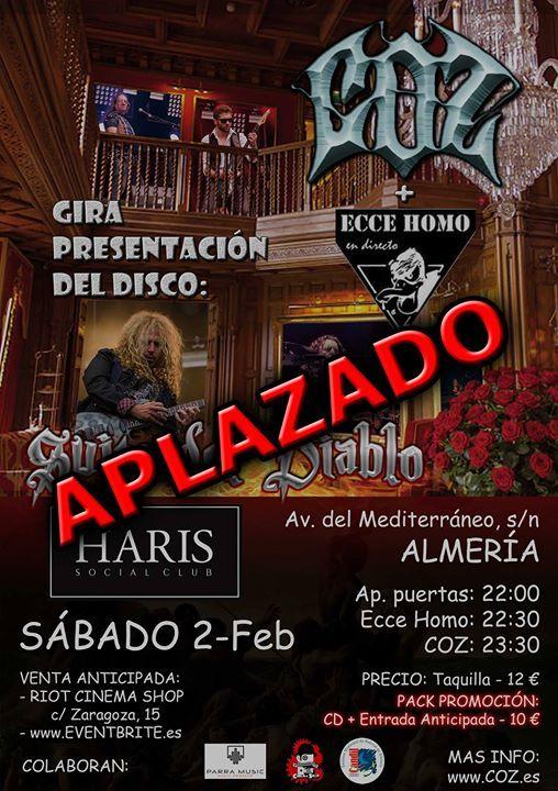 COZ en Sala HARIS (Almeria)