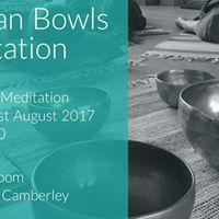 New Moon Tibetan Bowls Meditation  The Yoga Room Blackwater Camberley