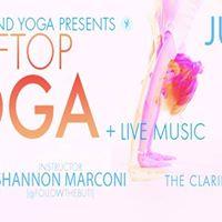Underground Yoga at the Claridge Rooftop
