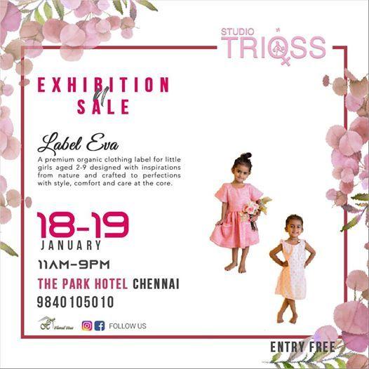 Label Eva at StudioTrioss Exhibition