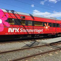 NRK Sommertoget kommer til Oslo lufthavn