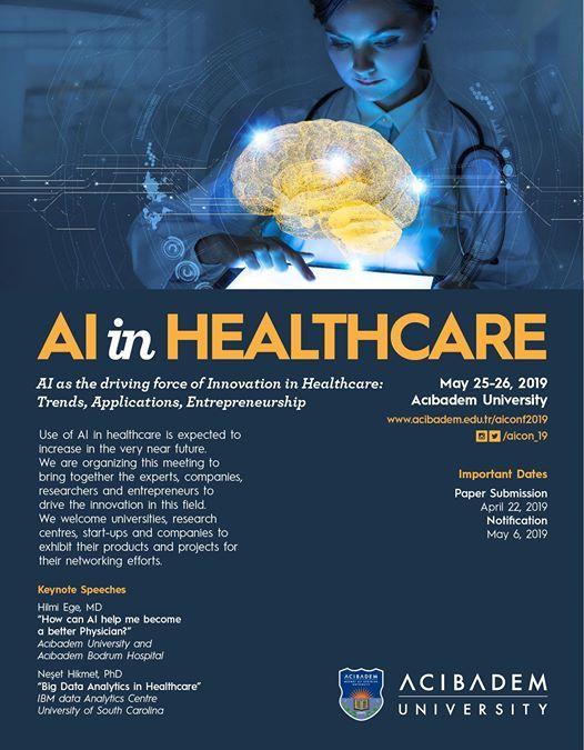 AI in Healthcare Conference 2019