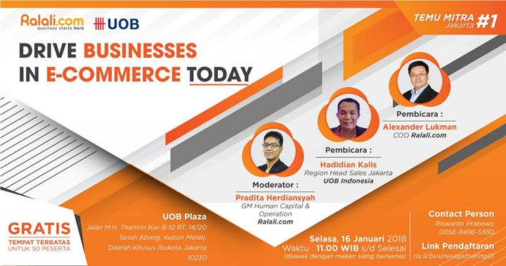 Business Gathering - Drive Businesses in E-Commerce Today