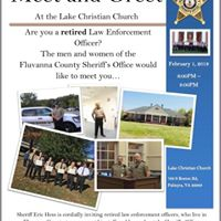 Retired Law Enforcement Meet and Greet