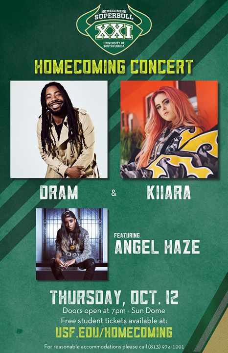 USF Homecoming XXI Concert