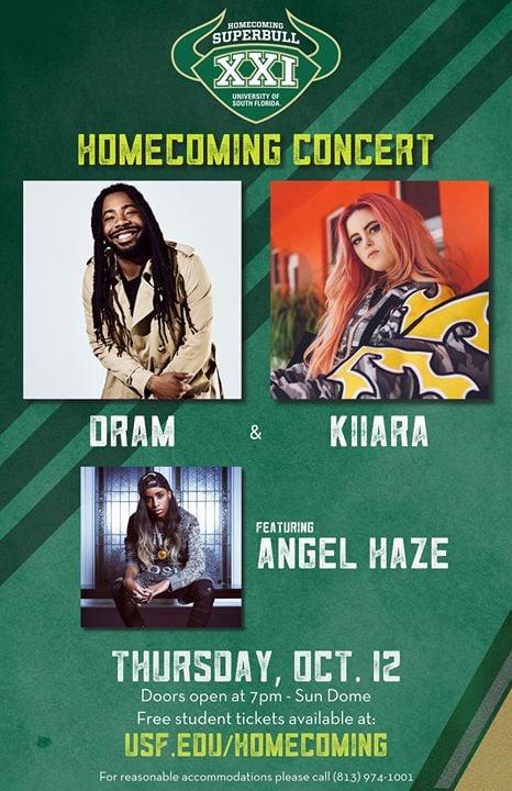 USF Homecoming XXI Concert