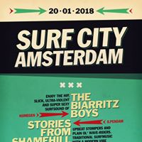 Surf City Amsterdam - The Biarritz Boys &amp Stories from Shamehill