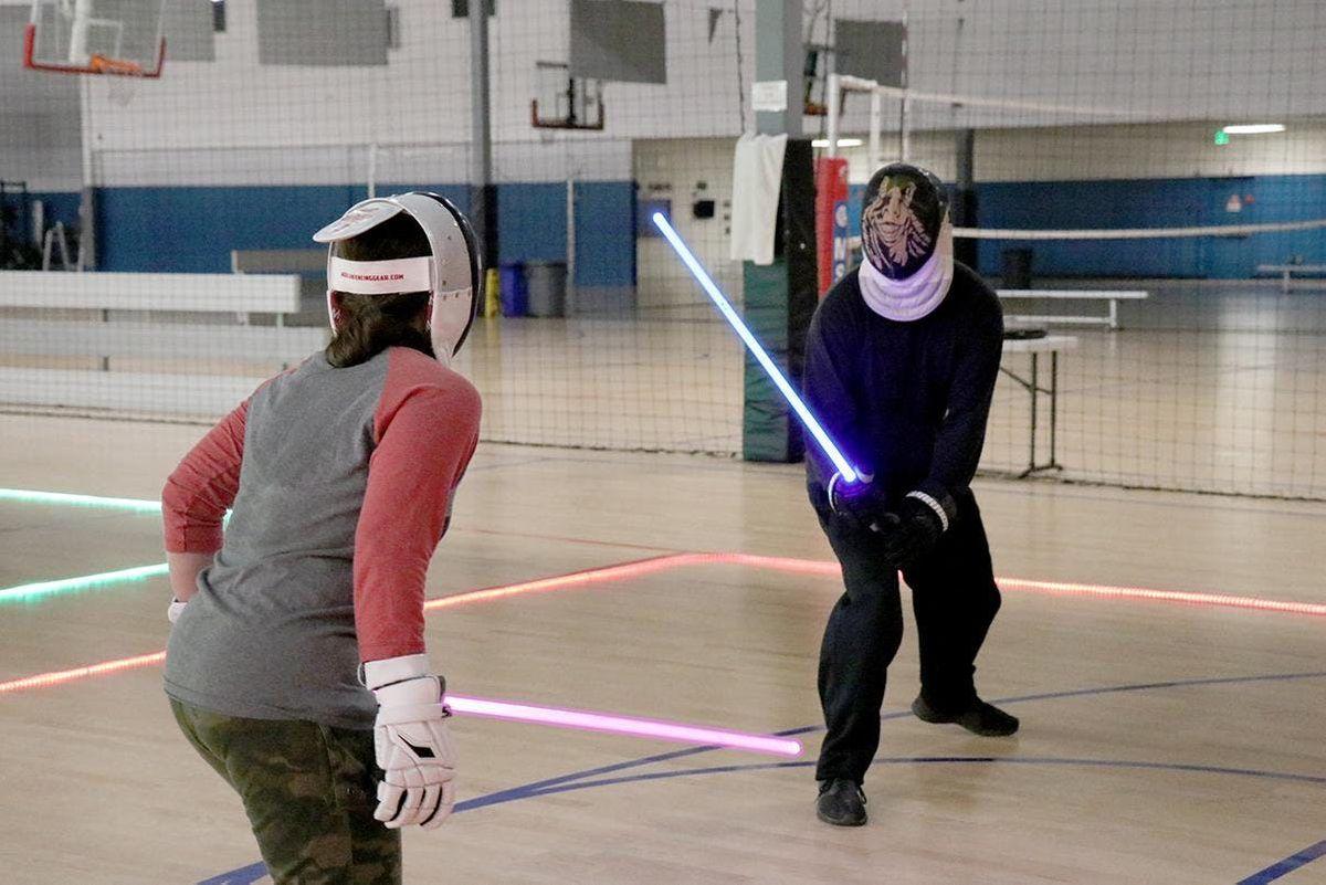 Free Lightspeed-saber fencing class