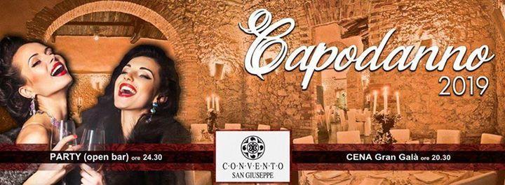 Gran Gala Capodanno 2019 convento Di San Giusppe