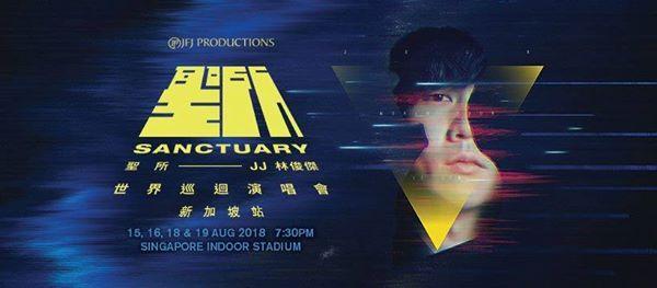 - JJ Lin Sanctuary World Tour - Singapore