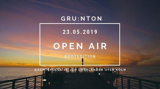 GRUNtON Open Air Bootedition