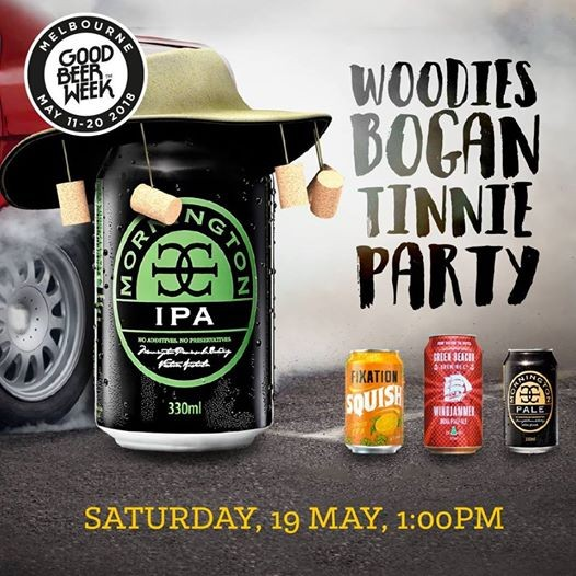GBW 2018 - The Woodies Bogan Tinny Party