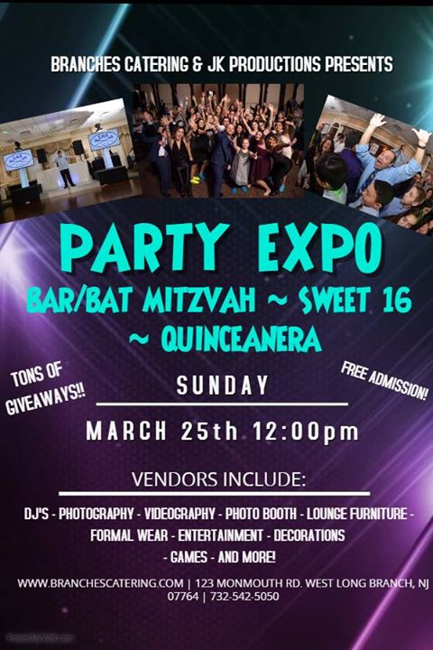 Bar mitzvah dj giveaways nj