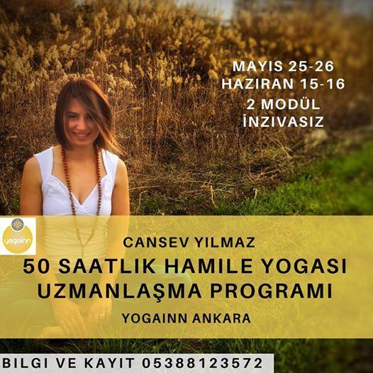 50 Saatlik Hamile Yogas Uzmanlama Program- Cansev Ylmaz