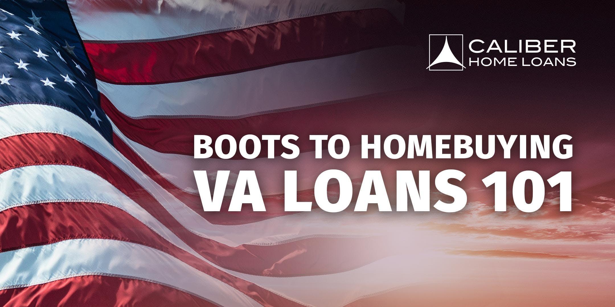 Boots to Homebuying - VA 101 Class