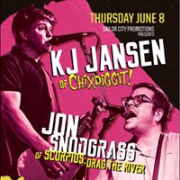 KJ Jansen and Jon Snodgrass with Ben Sir and Ghost Factory