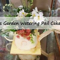 Cake Decorating Classes Port Elizabeth : Garden Watering Pail Cake Class at Wine & Cake Hobbies ...