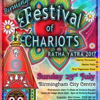 Birmingham Rathayatra 2017