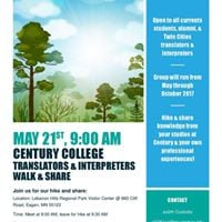 Translators and Intepreters Walk and Share