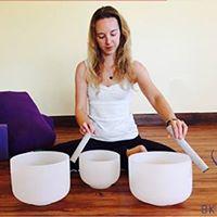 Restorative Yoga &amp Crystal Bowl Sound Bath with Lizz