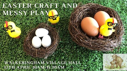 Easter Craft and Messy Play