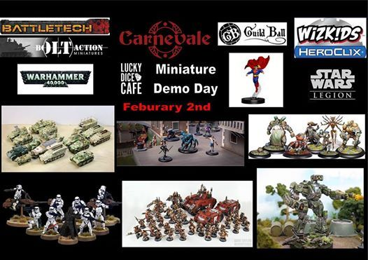 Lucky Dice Cafe Miniature Demo Day at Lucky Dice Cafe7914 South