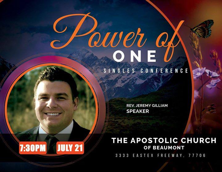 apostolic singles conference
