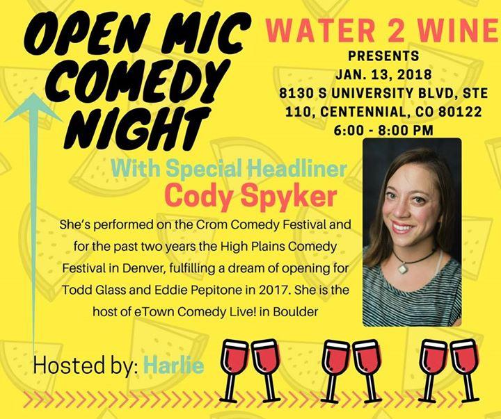 Comedy Night With Cody Spyker