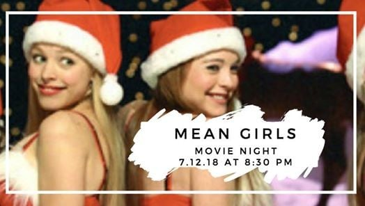 Outdoor Movie  Mean Girls at Peddler Brewing Company 3fcc4c291381