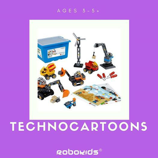 For ages 3-5 TechnoCartoons new batch