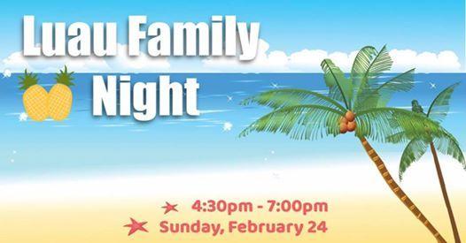 Luau Family Night