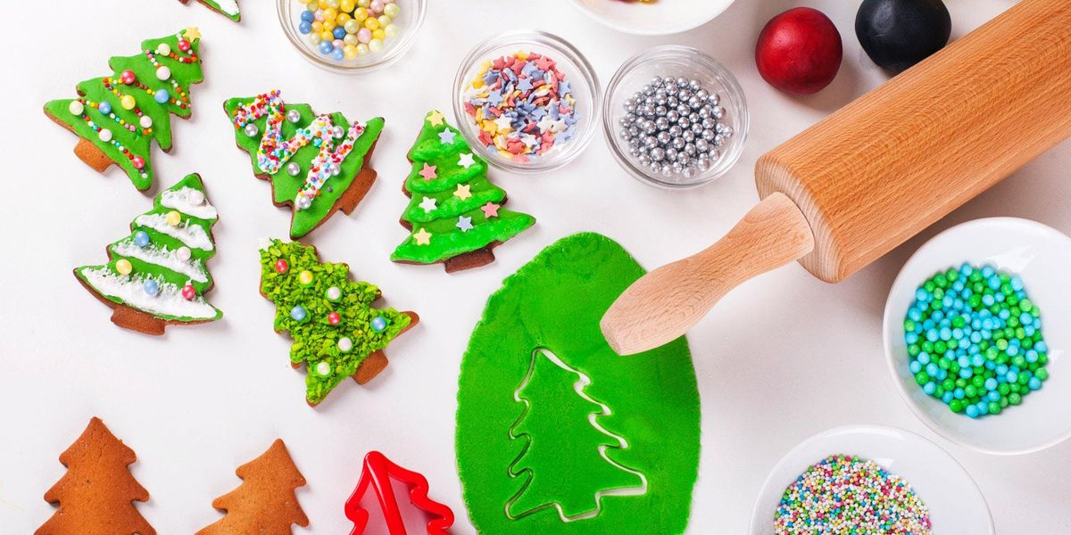 Kids Holiday cookie decoration