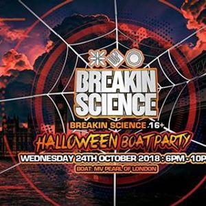 Breakin Science 16 Halloween Boat Party  London