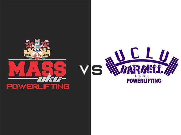 UKC MASS Powerlifting vs UCLU Barbell Club