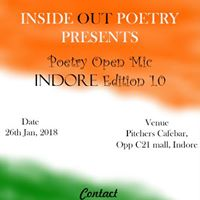 Inside Out Poetry Open Mic Indore Edition 1.0