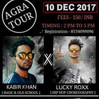 Hip Hop Dance Workshop (AGRA TOUR)