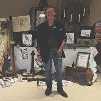 Mike Flake - Hosptial DrawingsInstallations