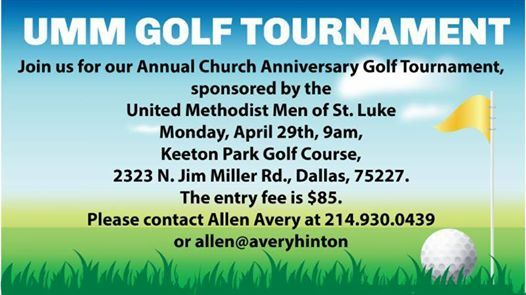 United Methodist Men Golf Tournament