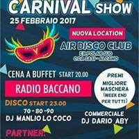 Carnevale con i RADIO BACCANO trio  Dj Set Air Disco Club Alcamo