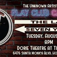 Play Club Cabaret Last 7 Years