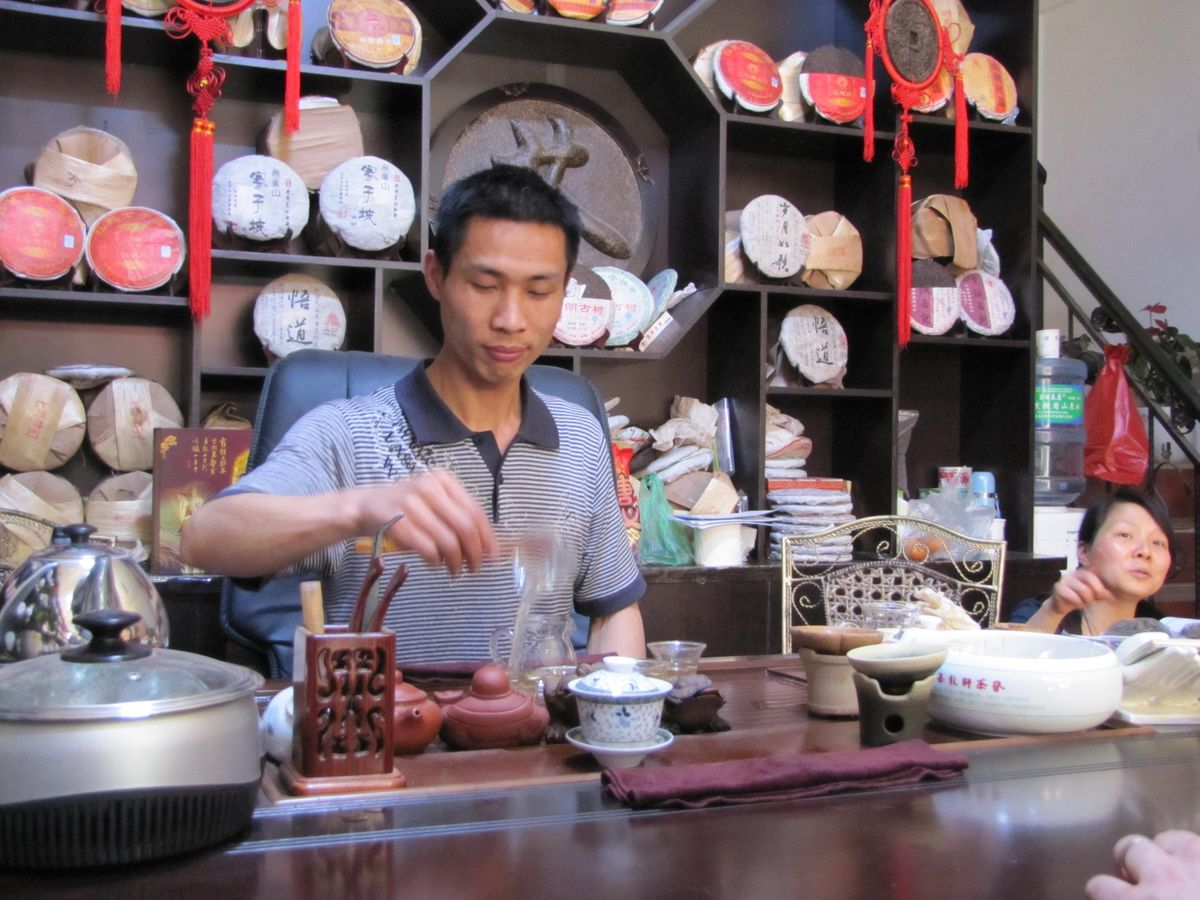 Puer Tea Class and Tasting