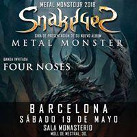 SnakeyeS  Four Noses en Barcelona