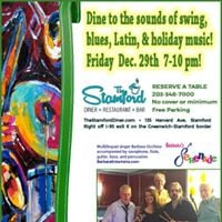 Holiday singalongs jazz &amp Latin tunes at the Stamford Diner