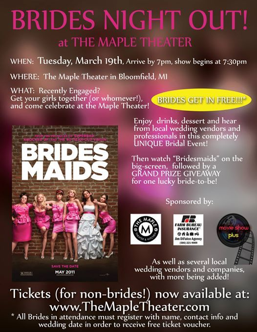 Brides Night Out at The Maple Theater