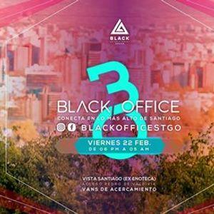 BLACK Office ☆ After Office Vista Santiago ☆ Viernes 22 Febrero 49fbfb6bad30