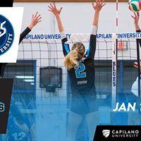 2017-18 Mens and Womens Volleyball vs VIU Mariners